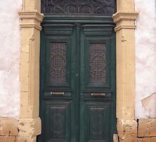 Old Green Door  by Steven Nicolaides