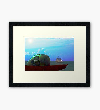 Ocean Dreamer Framed Print