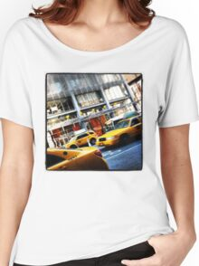 New York City Taxi Cabs Women's Relaxed Fit T-Shirt