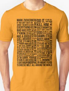 Game Grumps Quotes T-Shirt