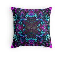 Psychedelia cirrca 2282 #2 Throw Pillow