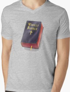 Wholly Babble! Mens V-Neck T-Shirt