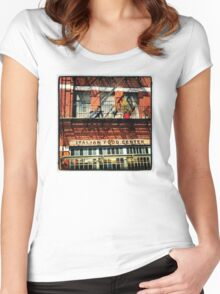 Little Italy, New York City Women's Fitted Scoop T-Shirt