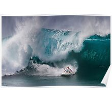 John John Florence At Billabong Pipe Masters In Memory of Andy Irons 2011 Poster