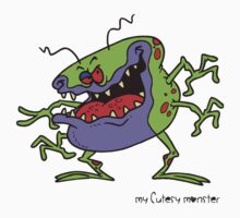 My Cutesy Monster - T Shirts, Stickers and Other Gifts Kids Clothes