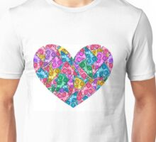 Pizza Rainbow Unisex T-Shirt