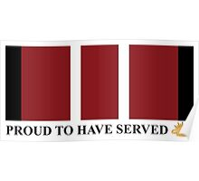 ADM Proud to have served Poster