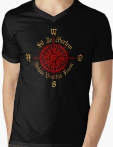 "PC Gamer's Compass - ""Death is Only the End of the Game"" Mens V-Neck T-Shirt"
