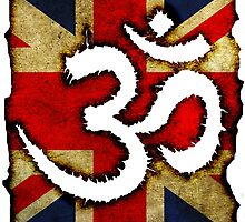 Om - Union Jack by SquareDog