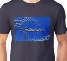 Blue Dodge Charger Logo T-Shirt