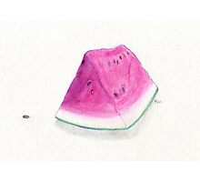 Summertime Watermelon Photographic Print