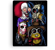 Mini Evil Parody Canvas Print