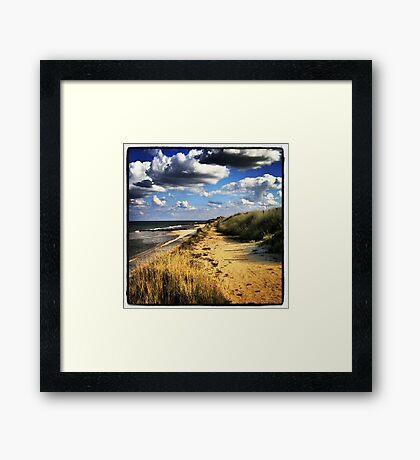 East Coast, Norfolk UK Framed Print