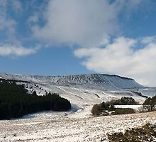 The ridge Brecon Beacons national park Mid Wales by wizard327
