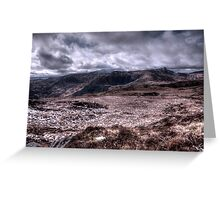 Deerrencollig Landscape Greeting Card