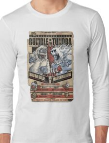 Rumble in the Tundra Parody Long Sleeve T-Shirt