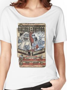 Rumble in the Tundra Parody Women's Relaxed Fit T-Shirt