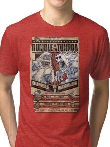 Rumble in the Tundra Parody Tri-blend T-Shirt