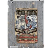 Rumble in the Tundra Parody iPad Case/Skin