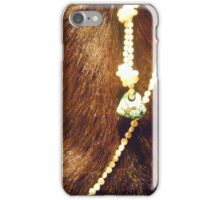 Goat Turquoise Pearls iPhone Case/Skin