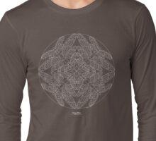 Dragonflies [white design] Long Sleeve T-Shirt