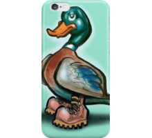 Duck in Work Boots iPhone Case/Skin