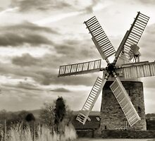 Heage Windmill: Derbyshire by Steven  Lee