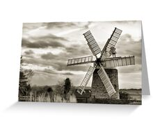 Heage Windmill: Derbyshire Greeting Card