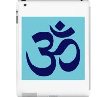 Aum Blue iPad Case/Skin