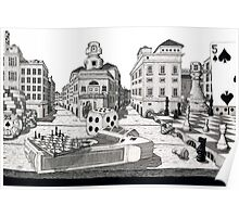 The City on a Table Poster