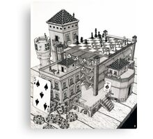 Card Tower Canvas Print