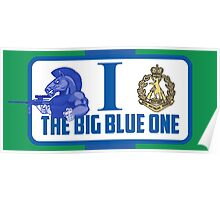 The Big Blue One Poster