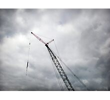 Crane Photographic Print