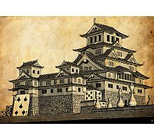 Himeji Castle (Parchment) Photographic Print