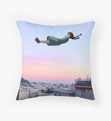 Sheeta fallin in Tokyo Throw Pillow