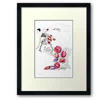 Spring. Spring and tulips... Framed Print