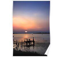Scenic Lake Poster