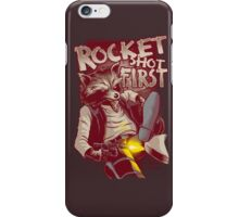 First Shot Parody iPhone Case/Skin