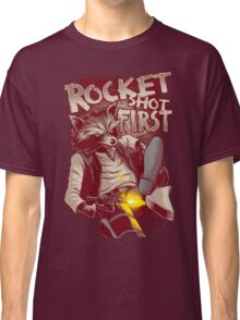 First Shot Parody Classic T-Shirt