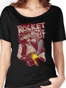 First Shot Parody Women's Relaxed Fit T-Shirt