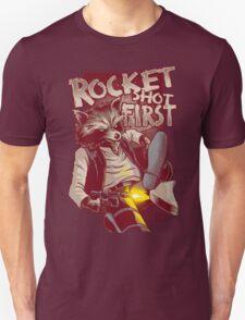 First Shot Parody Unisex T-Shirt