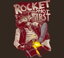 First Shot Parody Unisex T-Shirt
