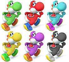 Yoshi Colors Photographic Print