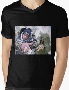 FLVCKO x $HINO  Mens V-Neck T-Shirt