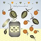 Peaberry Conserve with seeds by Helena Wilsen - Saunders