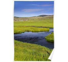 Fresh water stream Poster