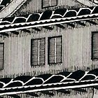 Himeji Castle detail 1 by Isaac Root