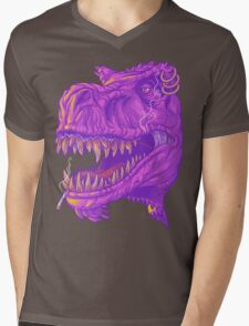 Stoner Rex Mens V-Neck T-Shirt