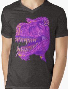 Stoner Rex Mens V-Neck T-Shirt