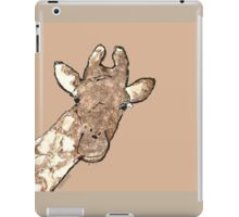 sd Giraffe 2L light iPad Case/Skin